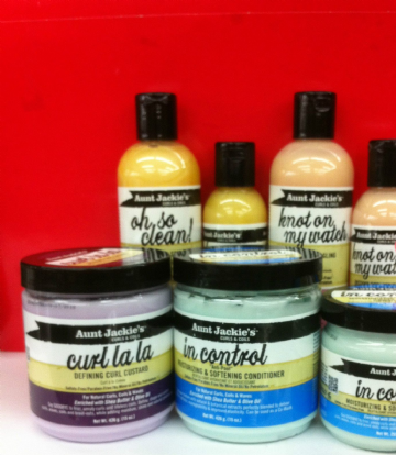 AUNT JACKIE'S HAIR PRODUCTS FOR NATURAL CURLS, COILS AND WAVES